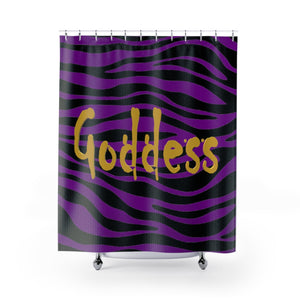 Goddess Shower Curtains