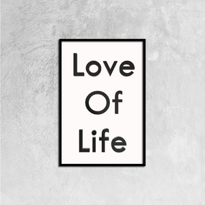 Love Of Life Canvas Prints