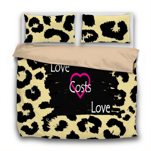 Love Cost Love 3 Pcs Bedding Sets