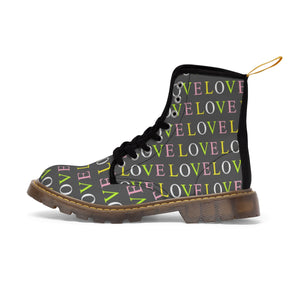 Love Canvas Boots