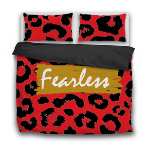 Fearless 3 Pcs Bedding Sets