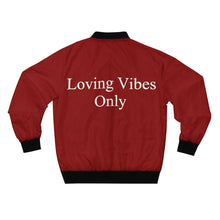 Loving Vibes Only AOP Bomber Jacket
