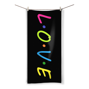 L.O.V.E Bath Towels