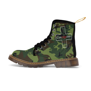 Courageous Canvas Boots