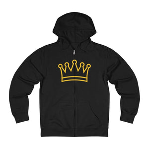 King Me Unisex French Terry Zip Hoodie - UniqXpression