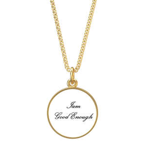 Iam Good Enough Affirmation Necklace - UniqXpression
