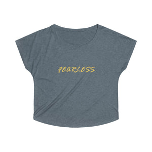 FEARLESS Tri-Blend Dolman - UniqXpression