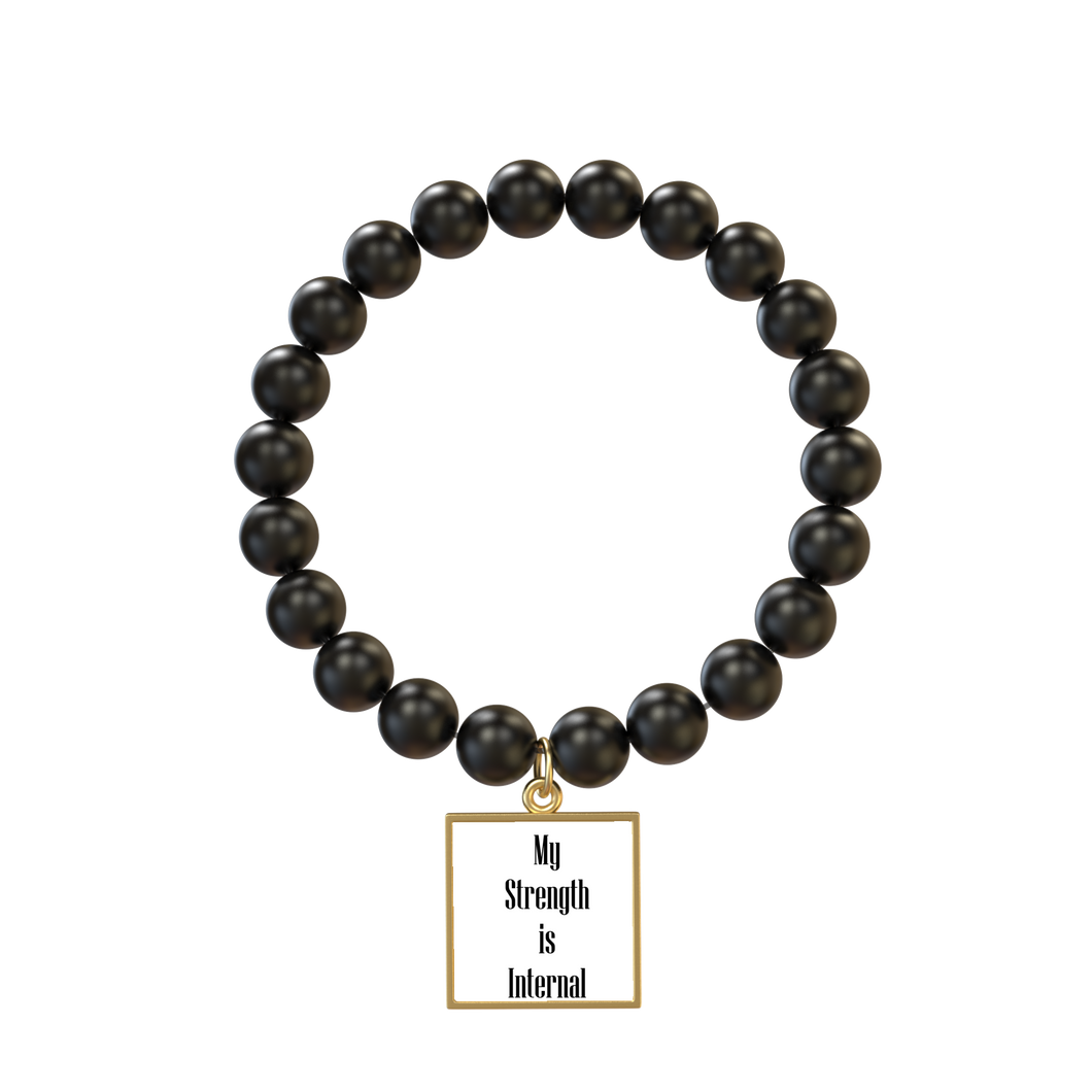 Internal Strength Affirmation Bracelet - UniqXpression