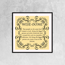 Wise Dome- Cycles We Create Canvas Print