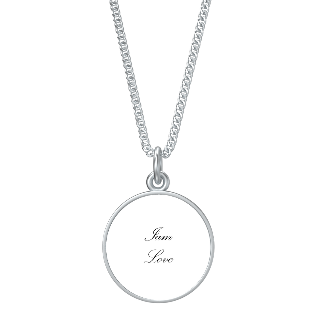 Iam Love Affirmation Necklace - UniqXpression