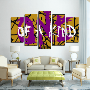 ONE OF A KIND 5 Panels Canvas Prints