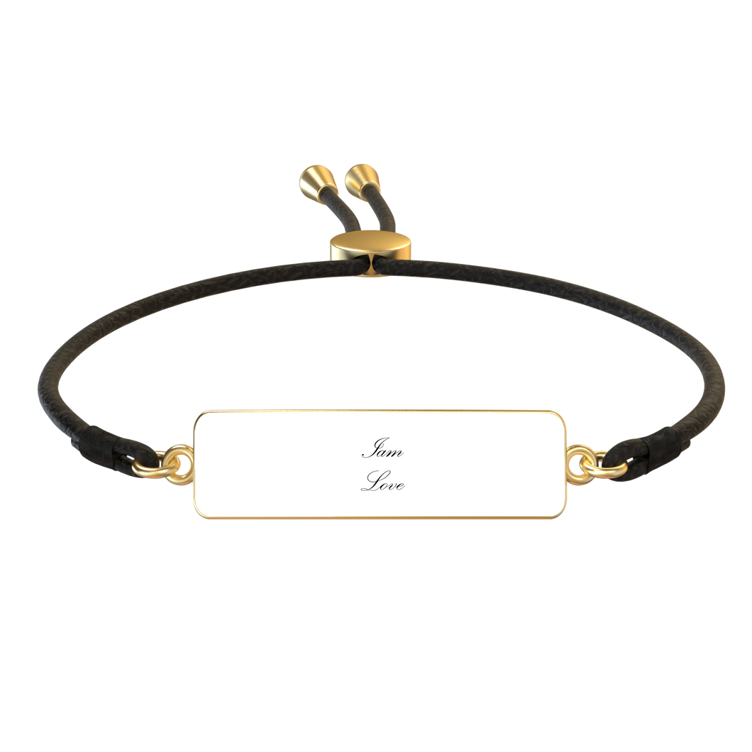 Iam Love Affirmation Bracelet - UniqXpression