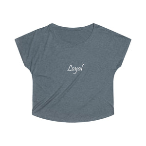 Loyal Tri-Blend Dolman - UniqXpression