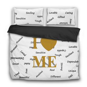 I Love Me 3 Pcs Bedding Sets