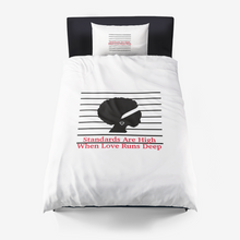 Love Runs Deep Microfiber Duvet Cover