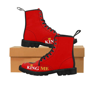 King Me Canvas Boots