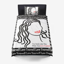 Love Yourself Microfiber Duvet Cover