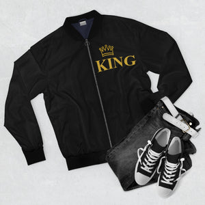 King AOP Bomber Jacket