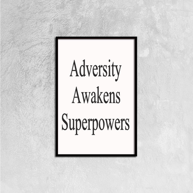 Adversity Canvas Prints