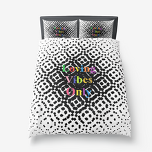 Loving Vibes Only Microfiber Duvet Cover