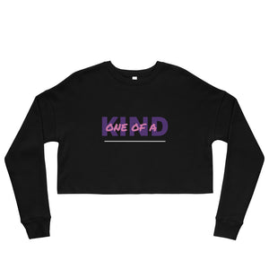 ONE OF A KIND Crop Top Sweatshirt - UniqXpression