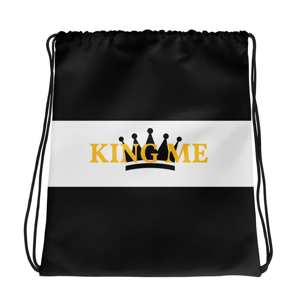 KING ME Drawstring bag - UniqXpression