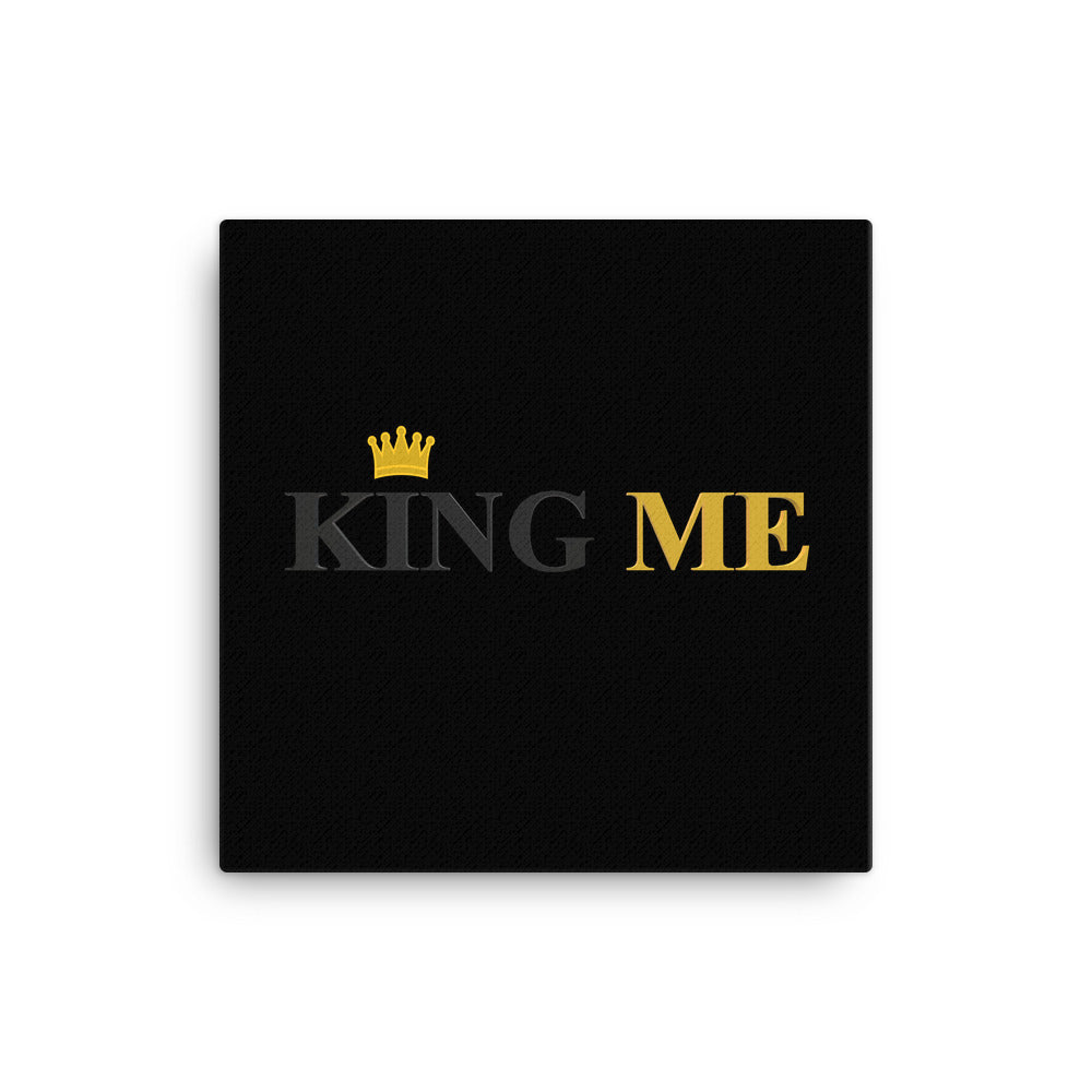 King Me Canvas
