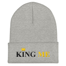 KING ME Cuffed Beanie - UniqXpression