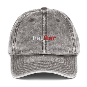 Failair Vintage Cotton Twill Cap