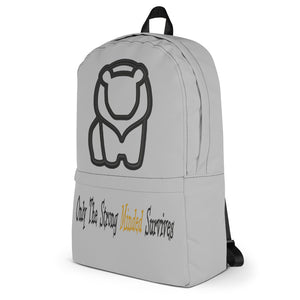 Only The Strong Minded Survives Backpack