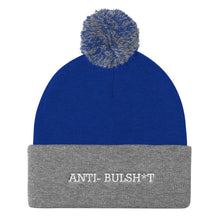 Anti- Bullshit Pom Pom Knit Cap - UniqXpression