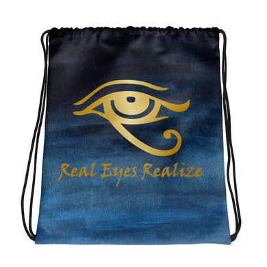 Real Eyes Realize Drawstring bag