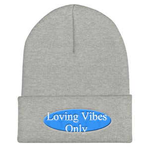Loving Vibes Only Cuffed Beanie - UniqXpression