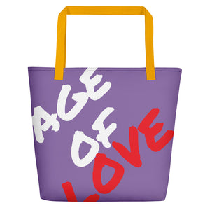 Age Of Love Beach Bag - UniqXpression