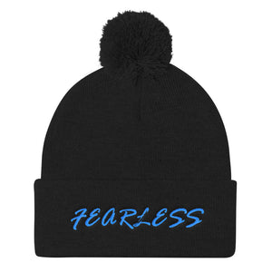 FEARLESS Pom Pom Knit Cap - UniqXpression