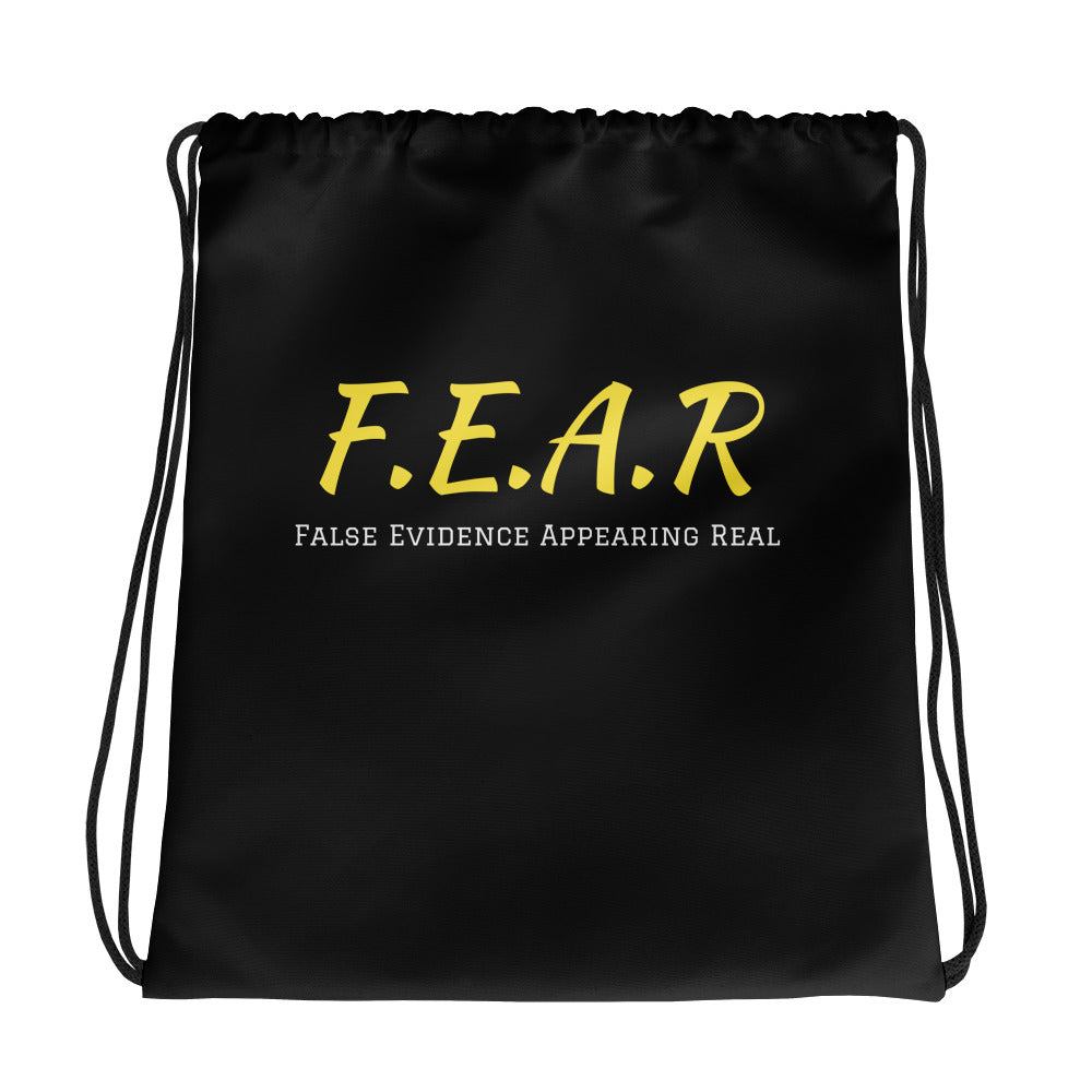 F.E.A.R Drawstring bag - UniqXpression