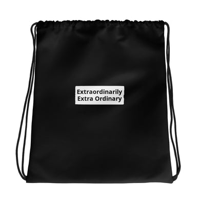 Extraordinarily Extra Ordinary Drawstring bag
