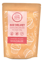 Load image into Gallery viewer, Red Velvet Gluten Free Cake Mix (Soulcialize)