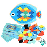 Montessori Animal Shape Puzzle