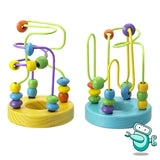 Wooden Bead Maze Toy (2 Sets)