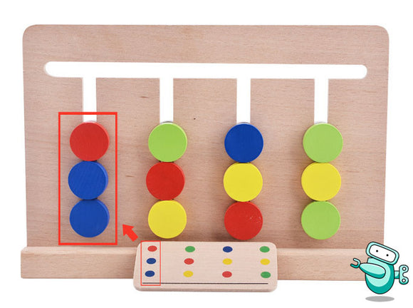 [HOT] Montessori Four Colors Game