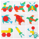 Montessori Wooden Geometry Tangrams