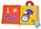 Baby Early Development Cloth Book - The Counting Book