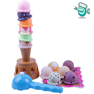 Balancing Ice Cream Tower