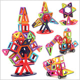 [HOT] Magnetic Building Block Set (40/64/76/95/113 /139/145/166/195/234pcs)