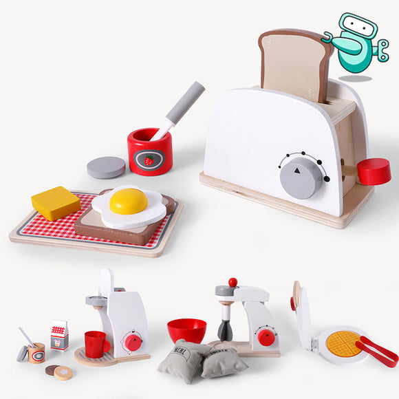 [HOT] Wooden Kitchen Pretend Play