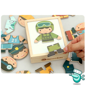 [HOT] Goryeo Baby Magnetic Child Changing Cloths Puzzle