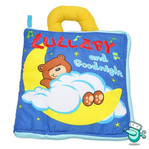 Baby Early Development Cloth Book - Lullaby and Goodnight