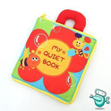 Baby Early Development Cloth Book - My Quiet Book