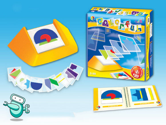 [HOT] Colorful Spatial Skills Puzzle